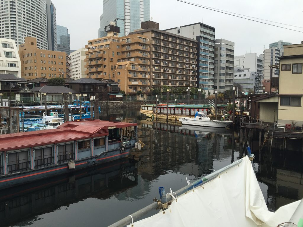 Escapade à Tokyo Jour 1 Maisons Bateaux 1
