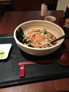 Escapade à Tokyo Jour 1 Dîner