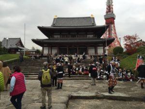 Le Temple Zojoji