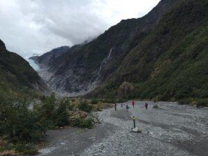 Franz Josef Glacier, notre prochaine découverte.